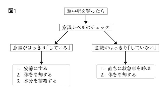 熱中症を疑ったら(図1)